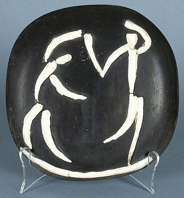 Understanding Picasso Ceramic Plaques Dancers, 1956