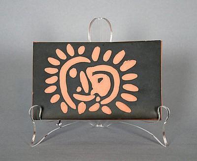 Pablo Picasso Ceramic Plaques Petit soleil (Little Sun) 1968-1969