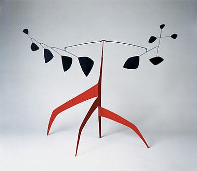 mobiles of Alexander Calder modern art sculptures
