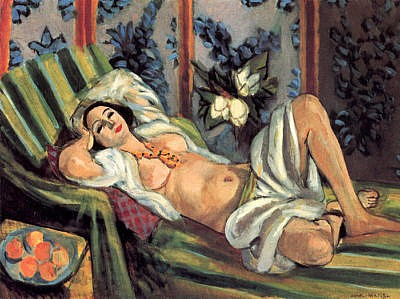 Matisse Odalisque, 1926, Baltimore Museum of Art, Baltimore, MD article by Masterworks Fine Art Gallery about Henri Matisse Paintings