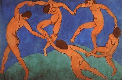 Henri Matisse Dance, 1910 article on Henri Matisse Paintings by Masterworks Fine Art Gallery
