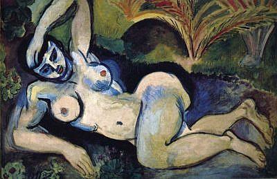 Henri Matisse Blue Nude: Souvenir of Biskra, 1907 article by Masterworks Fine Art gallery