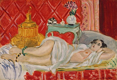 Matisse Odalisque, Harmony in Red, 1926-27, The Metropolitan Museum of Art, New York article by Masterworks Fine Art Gallery about Henri Matisse Paintings