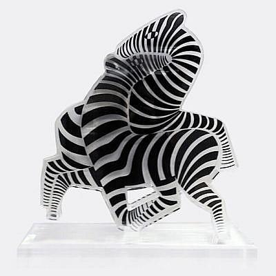 Victor Vasarely Zebra, 1937